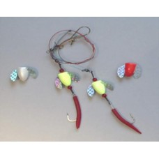 Spin-N-Glo Cog Rig with 6/0 Hook